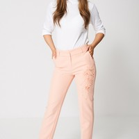 Exclusive Collection Embroidered Trousers