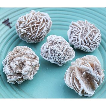 "DESERT ROSE Soothes the Mind and Helps Dissolve Old Limiting Beliefs - Selenite ""Gypsum Rose"" or ""Sand Rose"""