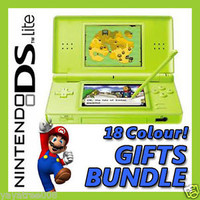 BRAND NEW [APPLE GREEN] Nintendo DS Lite NDSL Handheld Game Console System