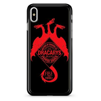 Dracarys Mother Of Dragons iPhone X Case