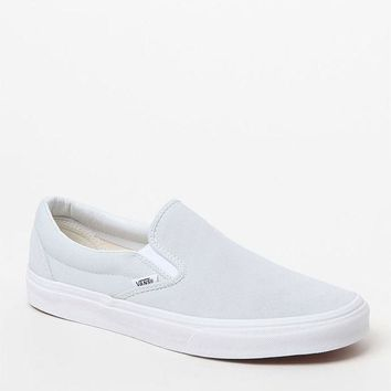 LMFONDI5 Vans Suede and Canvas Pale Blue Slip-On Shoes