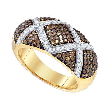 Diamond Fashion Band in 10k Gold 0.9 ctw