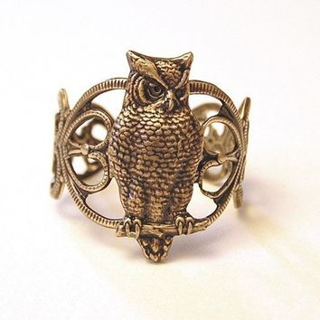Mysterious of Owls by chinookhugs on Etsy