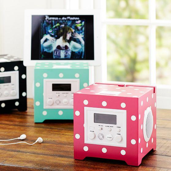 Cube Rockin Alarm Clock from PBteen | Dorm Room