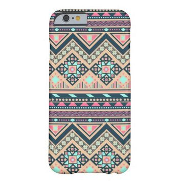 Colorful Abstract Aztec Tribal Pattern Barely There iPhone 6 Case