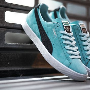 spbest PUMA Clyde x Diamond Supply Co. - Aruba Blue