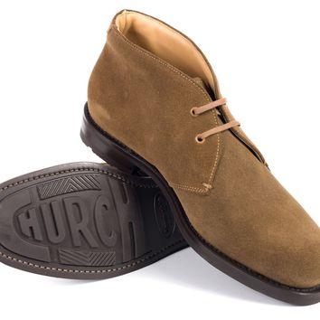 Church's Tan Suede Catherine Ankle Desert Boots