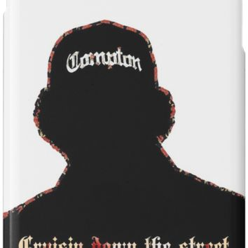 'RAP / HIP-HOP: Eazy E' iPhone Case/Skin by BeardyBirdman