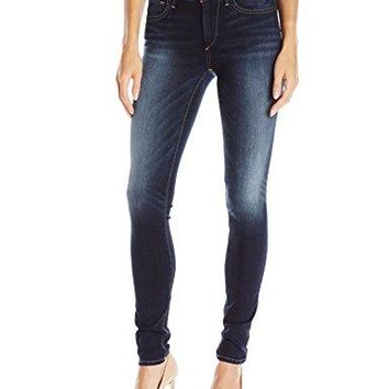 True Religion Women's Jennie Curvy Skinny Jean in Native Ora Clean, Native Aura Clean, 28
