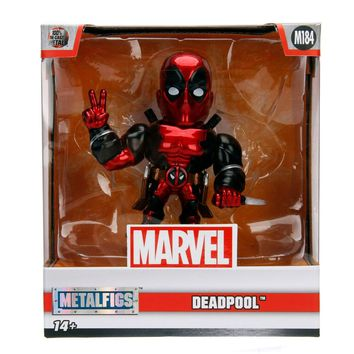 "Jada Diecast Metal Candy Red Deadpool 4"" M184"