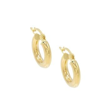 Hollow Hoops 14KT
