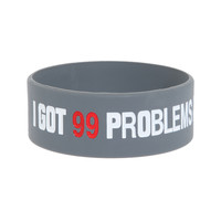 99 Problems Rubber Bracelet | Hot Topic