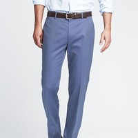 Banana Republic Mens Tailored Slim Non Iron Cotton Dress Pant