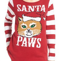 Ugly Christmas Sweater 'Santa Paws' Sweater | Nordstrom