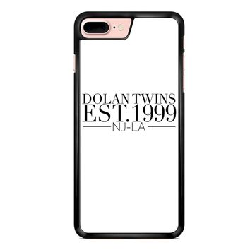 Dolan Twins Est 1999 1 White iPhone 7 Plus Case