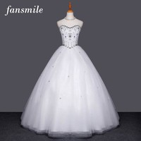 Crystal Wedding Dress  Plus Size