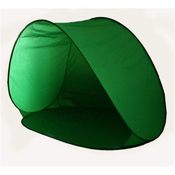 Pop Up Beach Tent Camping Shelter Fold Outdoor Tent Green