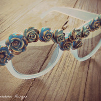 SALE - Rose Garden Glasses (Sunglasses) - W.I.L. by Ouroboros Designs