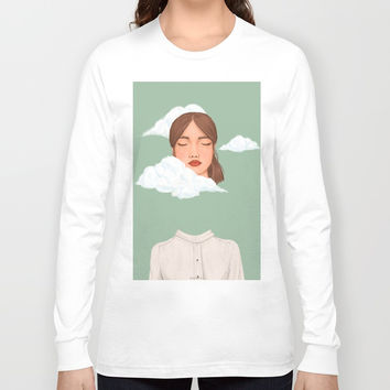 Head in the Clouds Long Sleeve T-shirt by marylobs