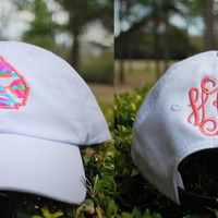 Lilly Pulitzer State Hat with Monogram