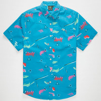 Catch Surf Vice Mens Shirt Blue  In Sizes