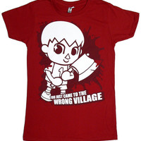 Villager Comes to Town Ladies T-shirt - Animal Crossing Inspried