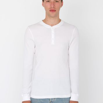wt457 - Classic Thermal Long Sleeve Henley