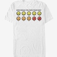 Big Hero 6 Pain Rating T-Shirt