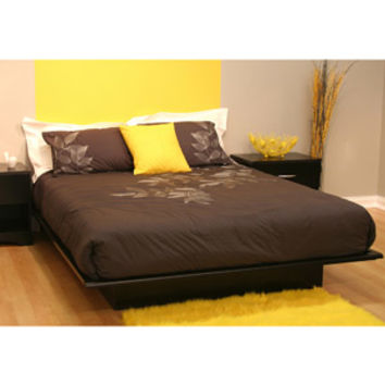 Walmart: South Shore Basics Full Platform Bed with Molding, Multiple Colors