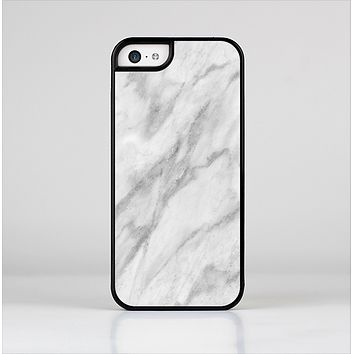The White Marble Surface Skin-Sert Case for the Apple iPhone 5c