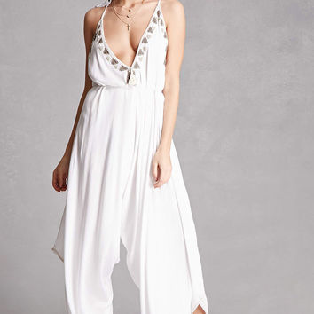 Z & L Europe Beaded Jumpsuit