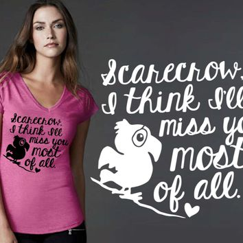I'll Miss You Most of All T-shirt | Wizard of Oz