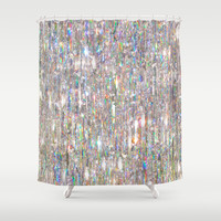 To Love Beauty Is To See Light (Crystal Prism Abstract) Shower Curtain by soaring anchor designs ⚓ | Society6