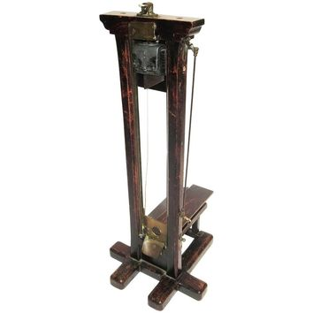 Late 1800s, French Guillotine Cigar Cutter