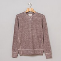 Universal Works Heskin Sweat (Burgundy Cottwool) | Oi Polloi