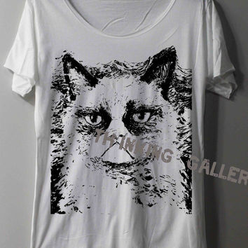 Grumpy Cat Shirt Harry Potter Shirt Magic Spell Shirts TShirt T Shirt Tee Shirts - Size S M L