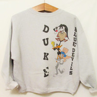 Vintage 1990's Looney Tunes Duke Sweatshirt