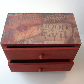 Harry Potter Trinket Box by StrictlyCute on Etsy