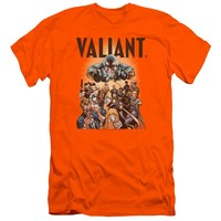 Valiant - Pyramid Group Premium Canvas Adult Slim Fit 30/1 Shirt Officially Licensed T-Shirt