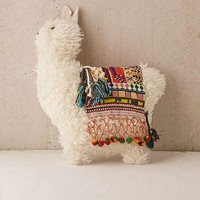 Furry Llama Cushion | Urban Outfitters