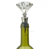 Diamonds are a Girls Best Friend Wine Stopper