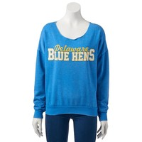 Delaware Blue Hens Burnout Fleece Sweatshirt