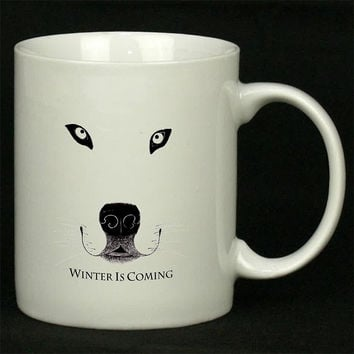 Winter is Coming For Ceramic Mugs Coffee *