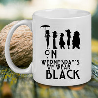 American Horror Story Black Mug Mug, Tea Mug, Coffee Mug