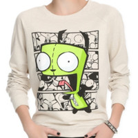 Invader Zim Gir Girls Pullover Top