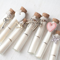 Message in a Bottle  Winter Wedding Secret message by BeautySpot