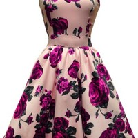 Violet English Rose Tea Dress | Lady Vintage - Buy Online Australia Tragic Beautiful
