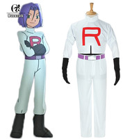 Pokemon Team Rocket James Costume