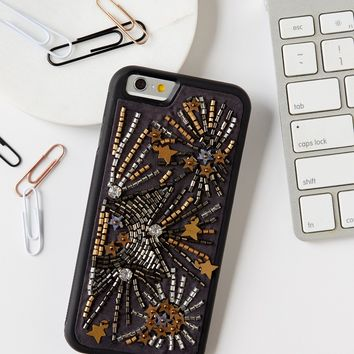 Free People Fireworks Beaded iPhone Case