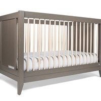 4-in-1 Convertible Crib With Toddler Rail